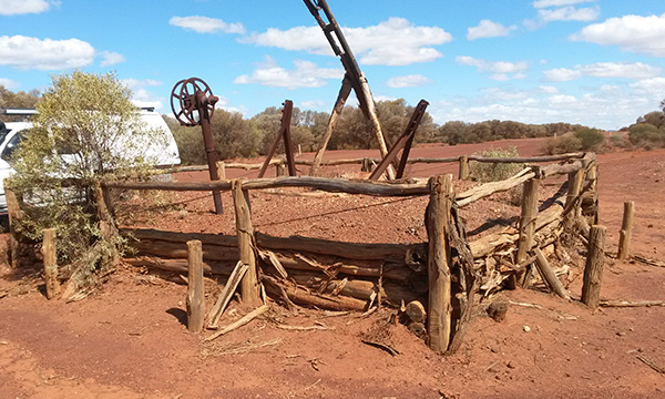 Historic remains in outback WA